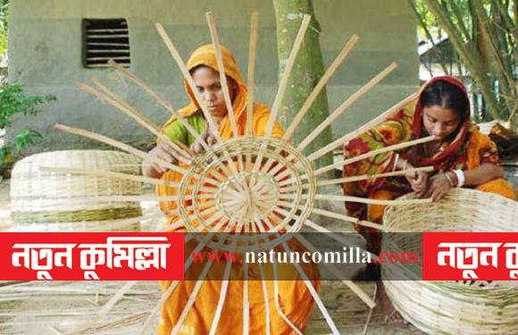 হারিয়ে যাচ্ছে কুমিল্লার গ্রামীণ ঐতিহ্য বাশঁ ও বেত শিল্প