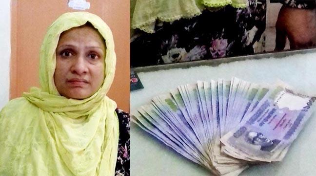 চান্দিনায় ৯৯ হাজার টাকার জাল নোটসহ নারী আটক