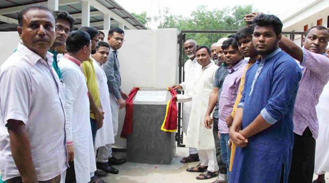 কুমিল্লা বিশ্ববিদ্যালয়ে মোটর গ্যারেজ উদ্বোধন