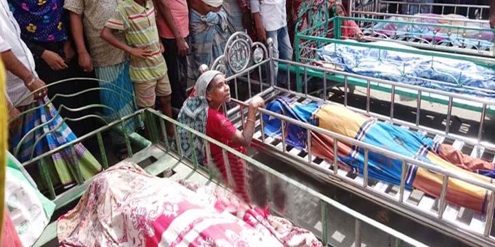 চাঁদপুরের হাজীগঞ্জে নিখোঁজ ৪ শিশুর মরদেহ উদ্ধার