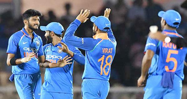চতুর্থ ওয়ানডেতে ওয়েস্ট ইন্ডিজকে ২২৪ রানে হারাল ভারত