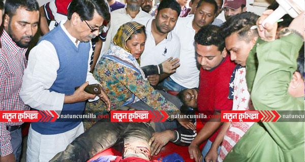 কুমিল্লায় নির্বাচনী মাঠে সংঘর্ষ-গুলি