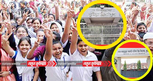 কুমিল্লা জিলা স্কুল ও ফয়জুন্নেছায় ভর্তি পরীক্ষার ফল প্রকাশ