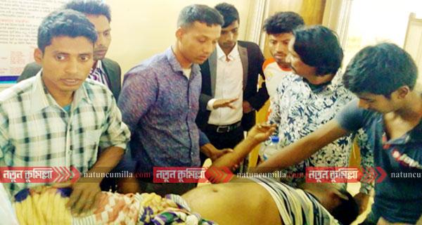 কুমিল্লা বিশ্ববিদ্যালয় ভবনের ছাদ থেকে পড়ে শ্রমিকের মৃত্যু