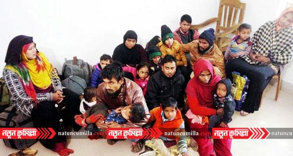 ভারত থেকে আসা নারী-পুরুষসহ ৪৮ রোহিঙ্গা কুমিল্লায় আটক