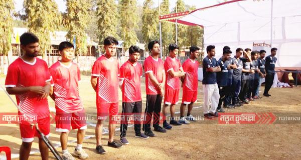 কুমিল্লা বিশ্ববিদ্যালয়ে আন্তঃবিভাগ ভলিবল প্রতিযোগিতার উদ্ধোধন