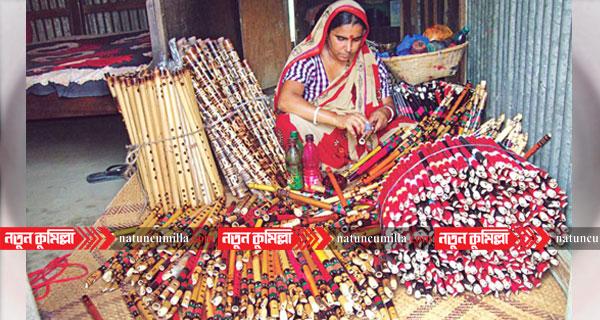 সারাদেশে প্রাণের উৎসবে কুমিল্লার বাঁশির সুর