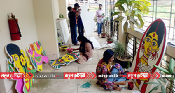 নববর্ষকে স্বাগত জানাতে প্রস্তুত কুমিল্লা বিশ্ববিদ্যালয়