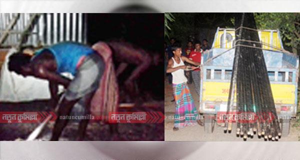 কুমিল্লায় অবৈধ গ্যাস সংযোগে কোটিপ্রতি দালাল চক্র!