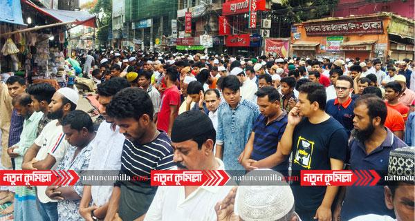 জুমাতুল বিদায় কুমিল্লায় মসজিদগুলোতে মুসল্লিদের ঢল