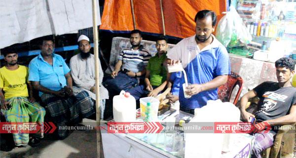 কুমিল্লার মুরাদনগরে জনপ্রিয় হয়ে উঠছে মাঠা