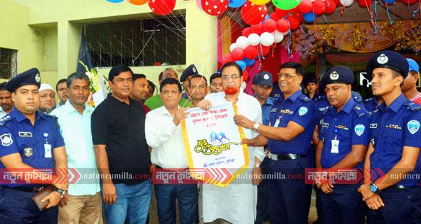 কুমিল্লায় চট্টগ্রাম রেঞ্জ কাবাডি প্রতিযোগিতা উদ্বোধন করেন এমপি বাহার