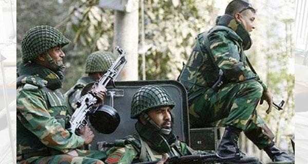 কুমিল্লায় আজ থেকে পুরোদমে মাঠে নেমেছে সেনাবাহিনী