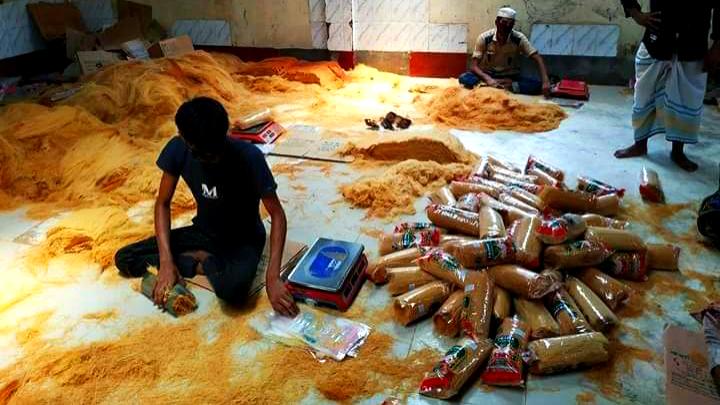 কুমিল্লায় অস্বাস্থ্যকর পরিবেশে সেমাই প্রস্তুতের দায়ে জরিমানা