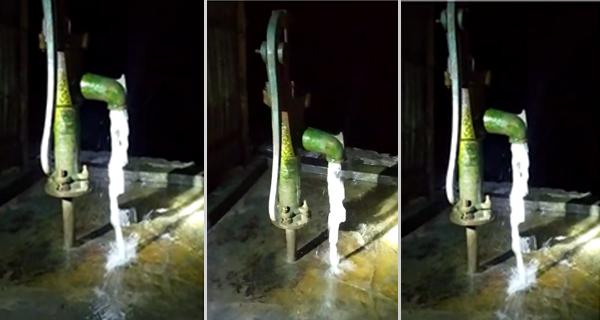 মুরাদনগরে স্বয়ংক্রিয়ভাবে নলকূপ থেকে ৩ ঘন্টা ধরে বের হলো পানি
